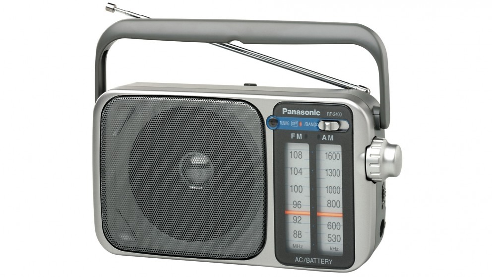 Buy Panasonic RF-2400 AM/FM Portable Radio | Harvey Norman AU