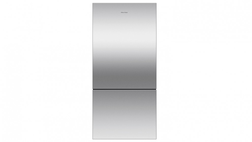 Fisher & Paykel 519L Pocket Handle Bottom Mount Fridge - Stainless Steel