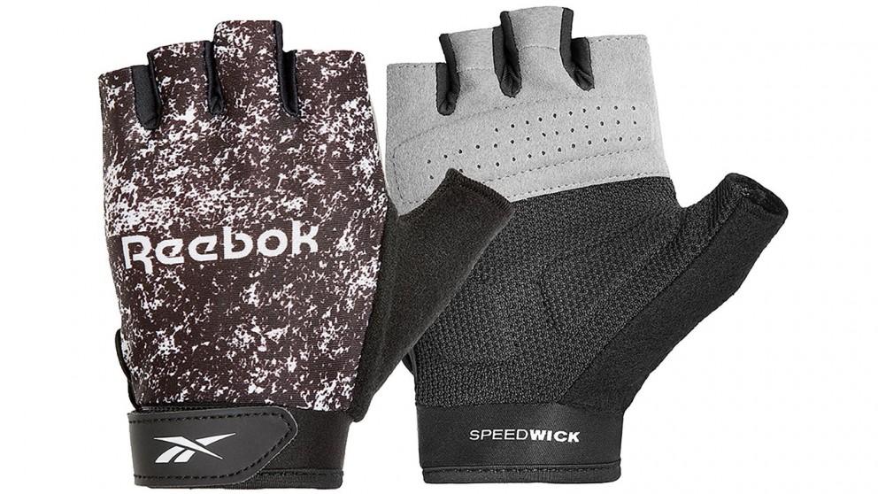 Reebok Womes Fitness Gloves Black White