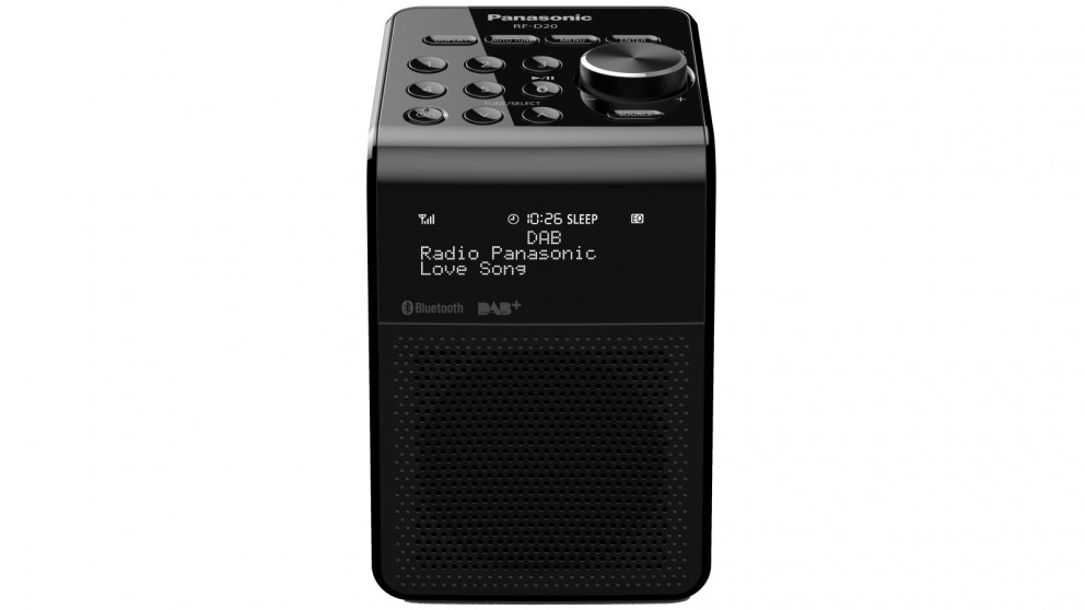Panasonic FM/DAB+ & Bluetooth Portable Radio - Black