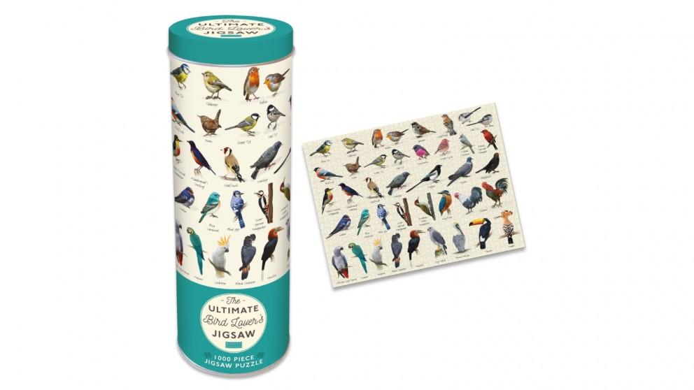 Robert Frederick 1000 Piece Jigsaw in a Tin - Bird Lovers