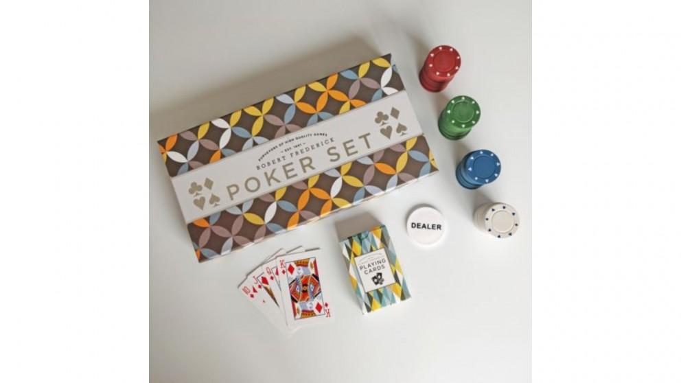 Robert Frederick Pyramid Games Poker Set