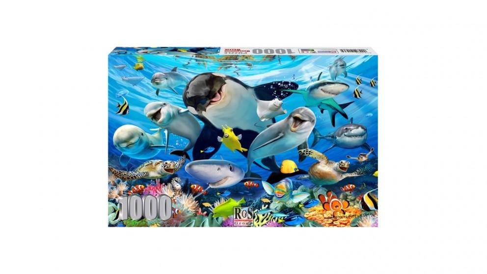 Underwater Selfie Jigsaw Puzzle - 1000 Pieces