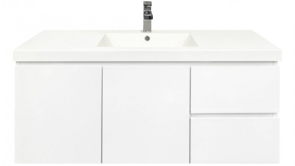 Forme Fifth Avenue 1200mm Right Side Drawer Wall Hung Vanity