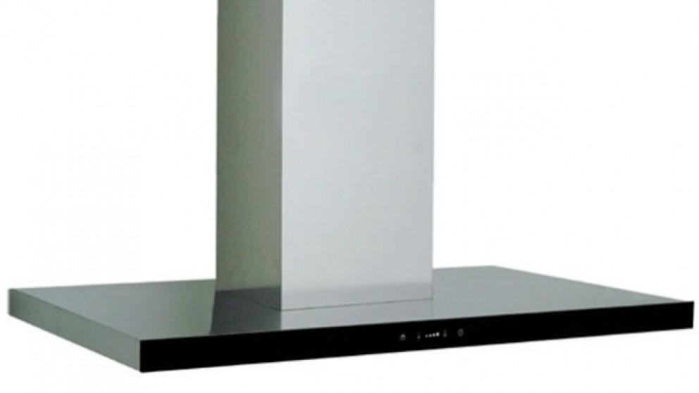 Sirius SEM2 900mm Black Glass Fascia Rangehood