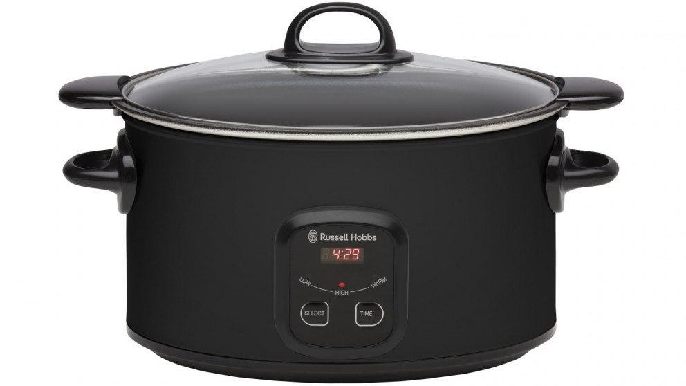 Russell Hobbs 6L Searing Slow Cooker - Matte Black