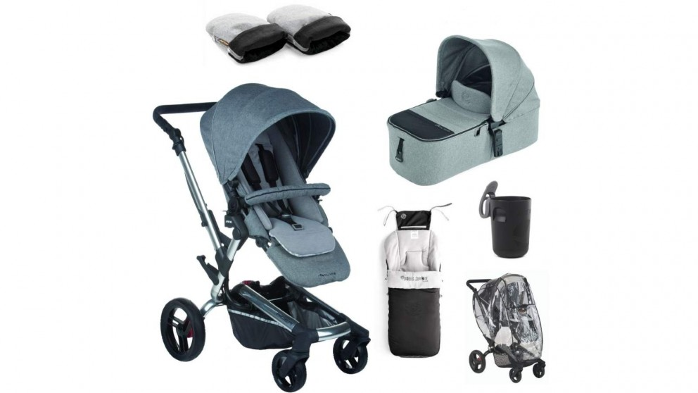 Jane Rider Winter Pram Package - Soil