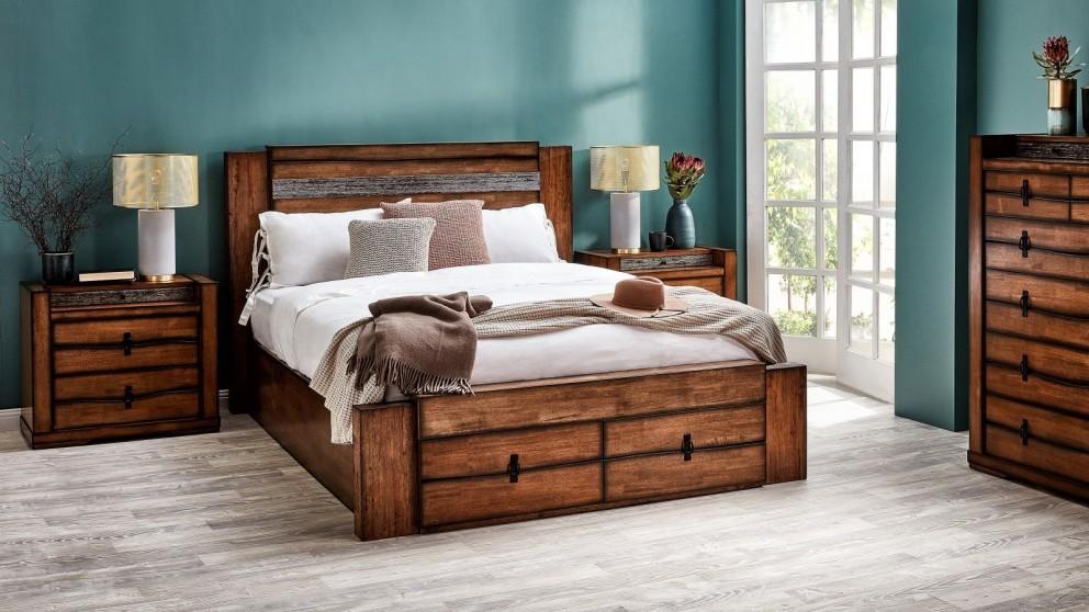 Buy Ridge Queen Bed Harvey Norman Au