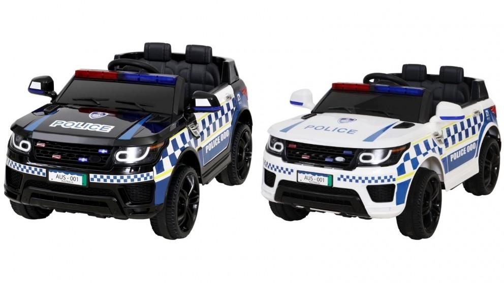 Rigo Kids Ride On Car Patrol Police
