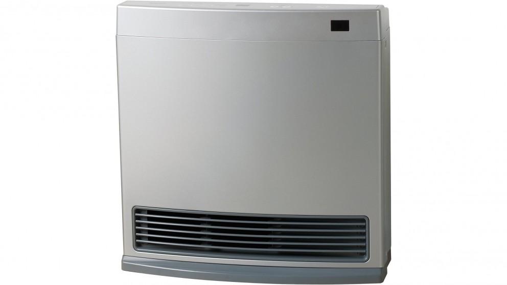 Rinnai Dynamo 15 Unflued Gas Convector Heater - Platinum Silver