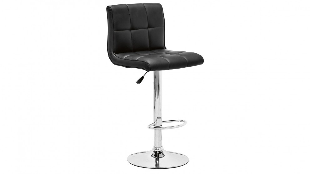 Riva Black Bar Stool