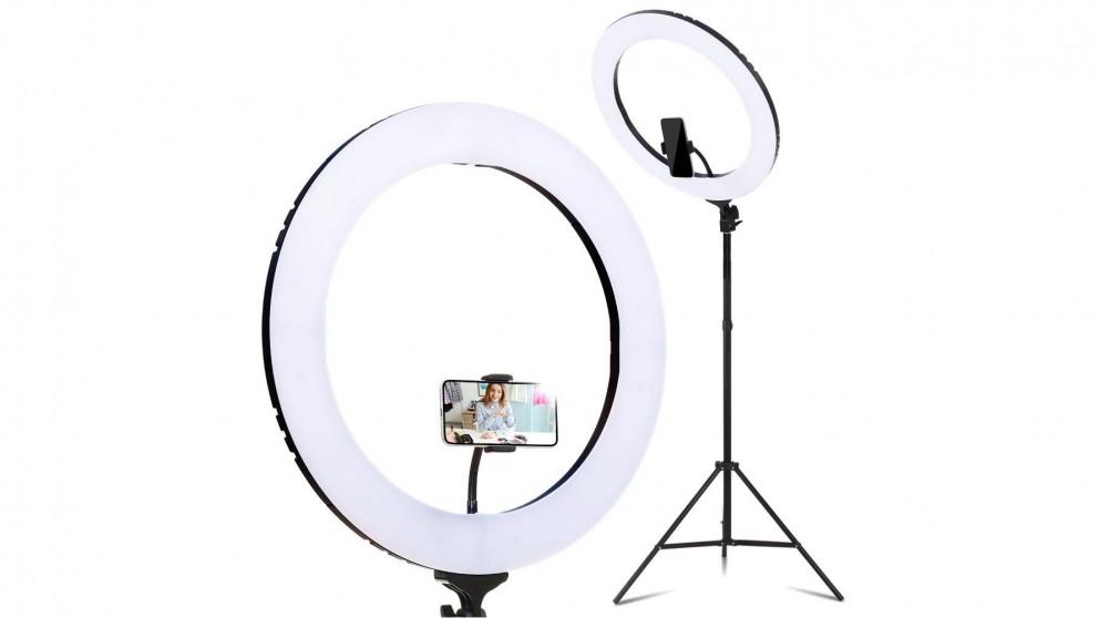 Embellir 19-inch LED Ring Light Stand - Black