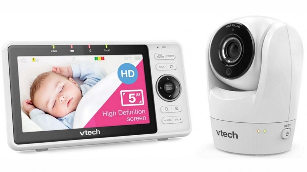 """VTech 5"""" Smart WiFi 1080p HD Baby Monitor & Camera"""