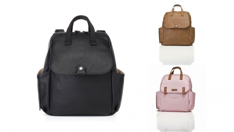 Babymel Robyn Convertible Backpack Faux Leather