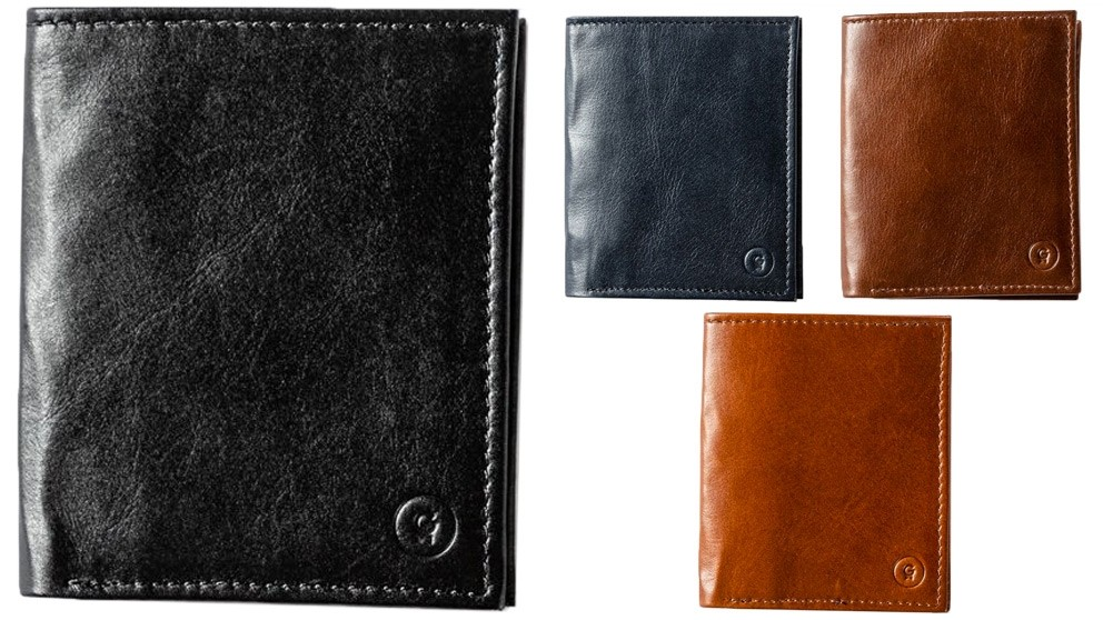 Rockefeller Slim Leather Wallet