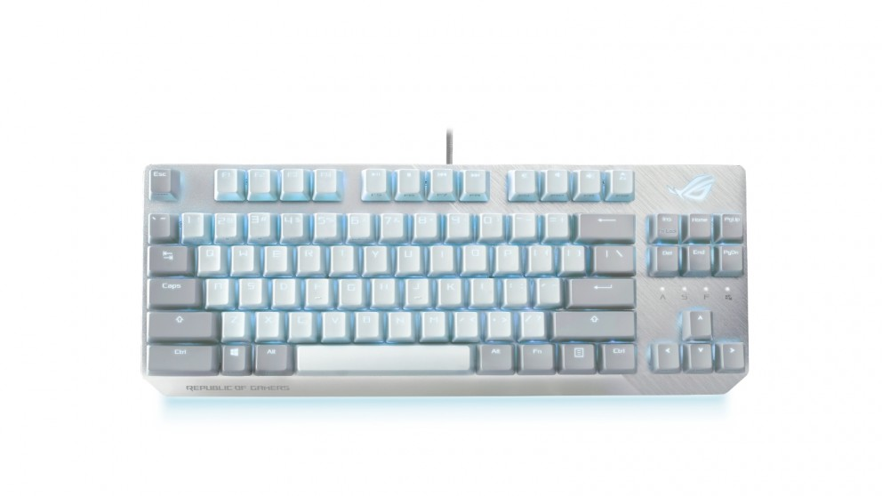 Asus ROG Strix Scope TKL Moonlight White Keyboard