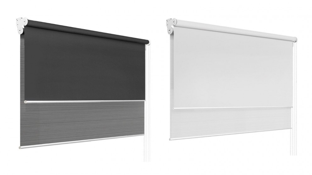 Roller Blinds Dual Shades 2.4x2.1m
