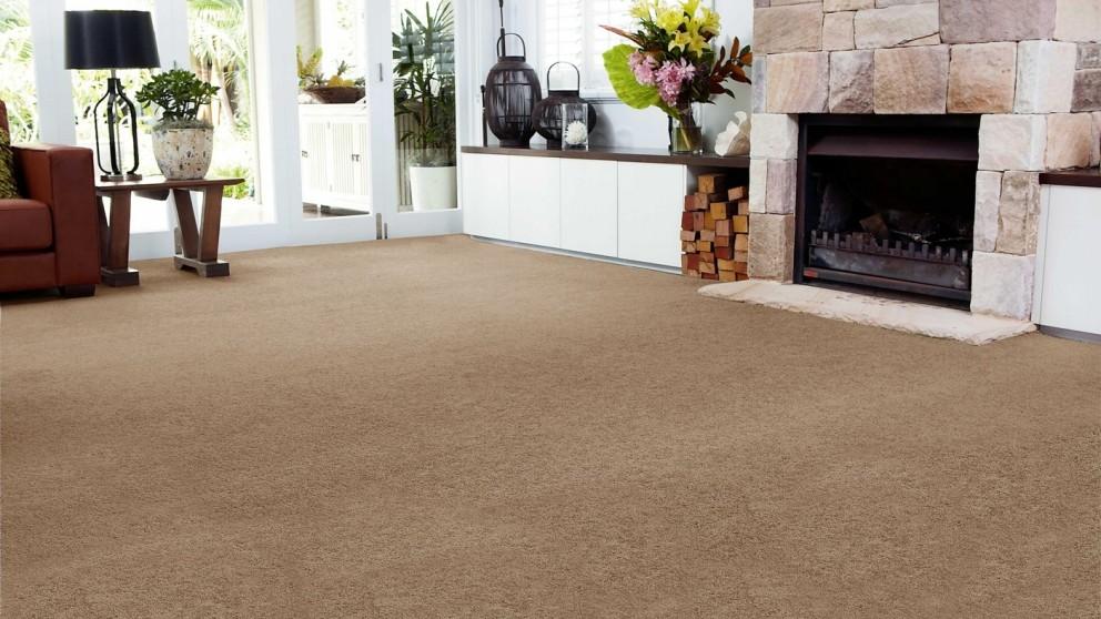 SmartStrand Forever Clean Chic - Gingerbread Carpet Flooring