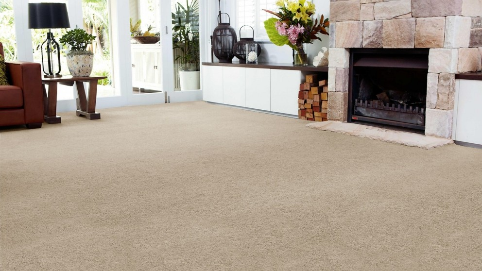 SmartStrand Forever Clean Chic - Safari Tan Carpet Flooring