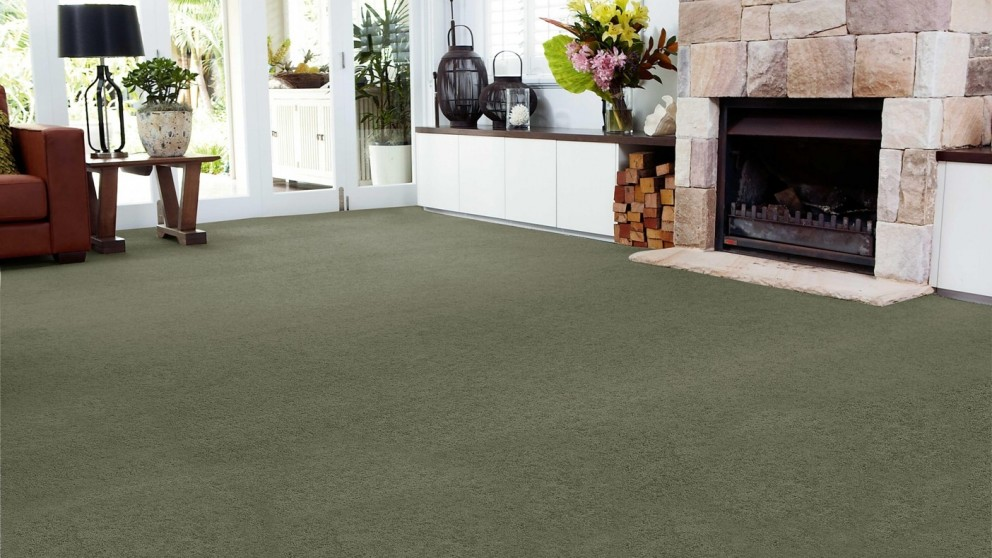 SmartStrand Forever Clean Chic - Spanish Moss Carpet Flooring