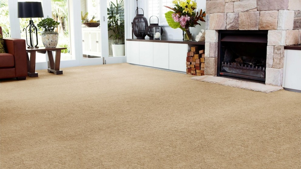 SmartStrand Forever Clean Chic - Wicker Basket Carpet Flooring