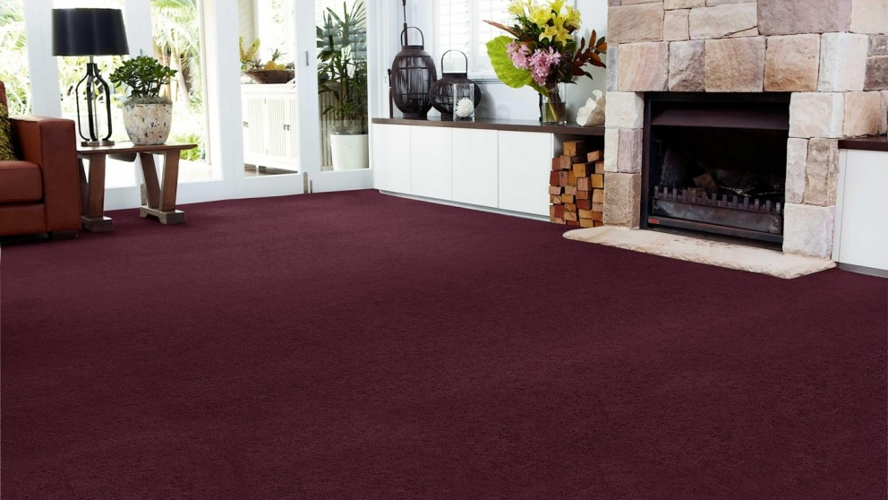 SmartStrand Forever Clean Chic - Bordeaux Carpet Flooring