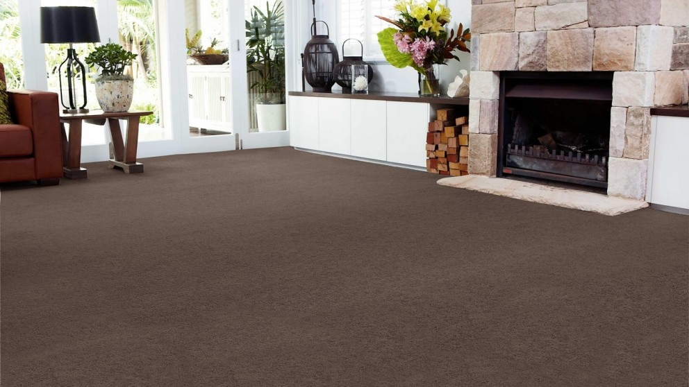 SmartStrand Forever Clean Chic - Coffee Bean Carpet Flooring