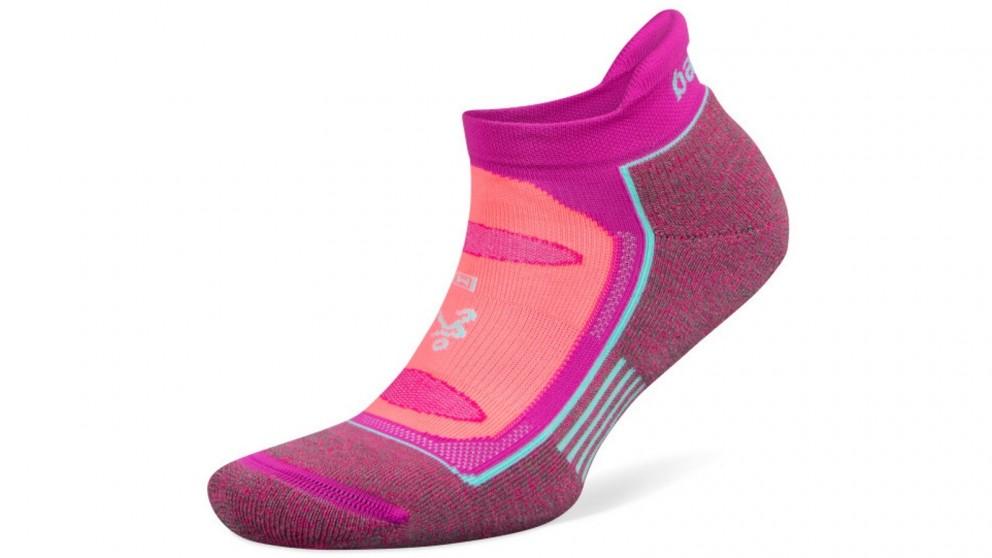 Balega Blister Resist No Show Rose/Pink Socks - Large