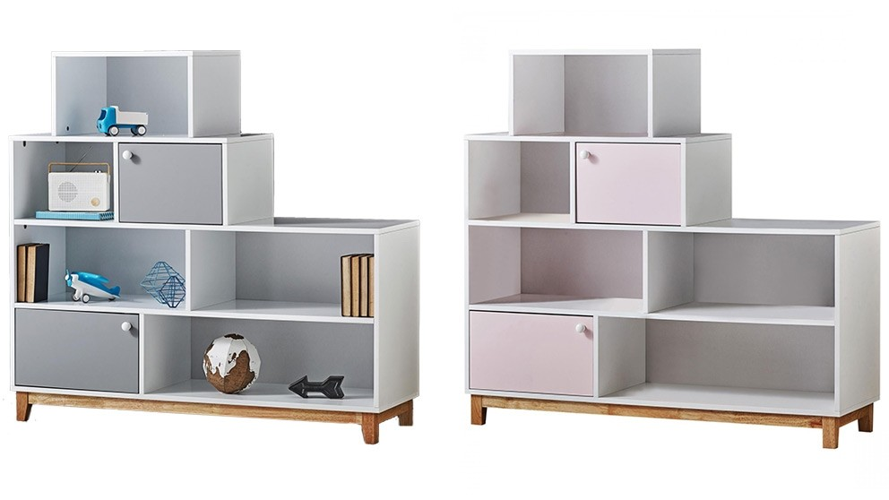 Roxanne 2-Door Bookcase