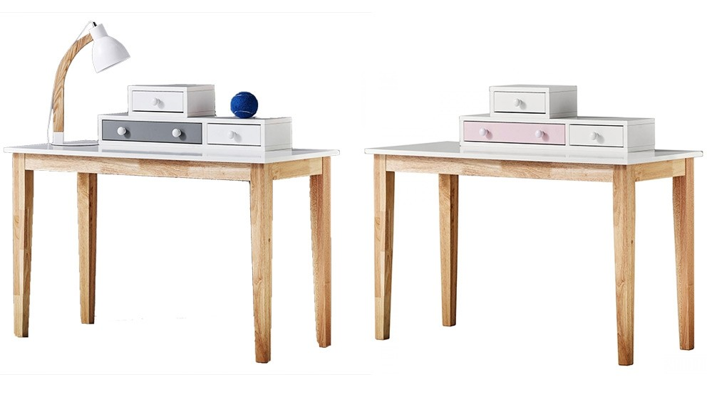 Roxanne 3-Drawer Desk