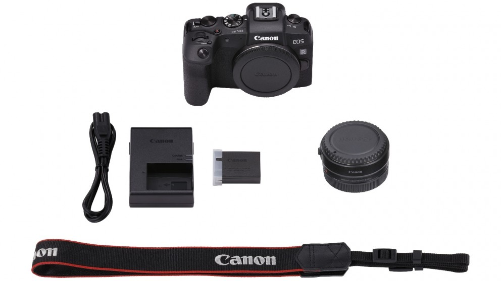 Canon EOS RP Full Frame Mirrorless Camera Body Only + EF-EOSR Adaptor
