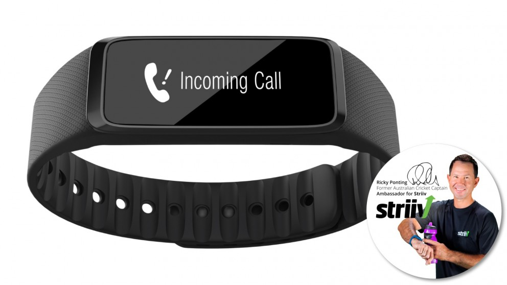 Striiv Fusion Lite Activity Tracker with Call Alert