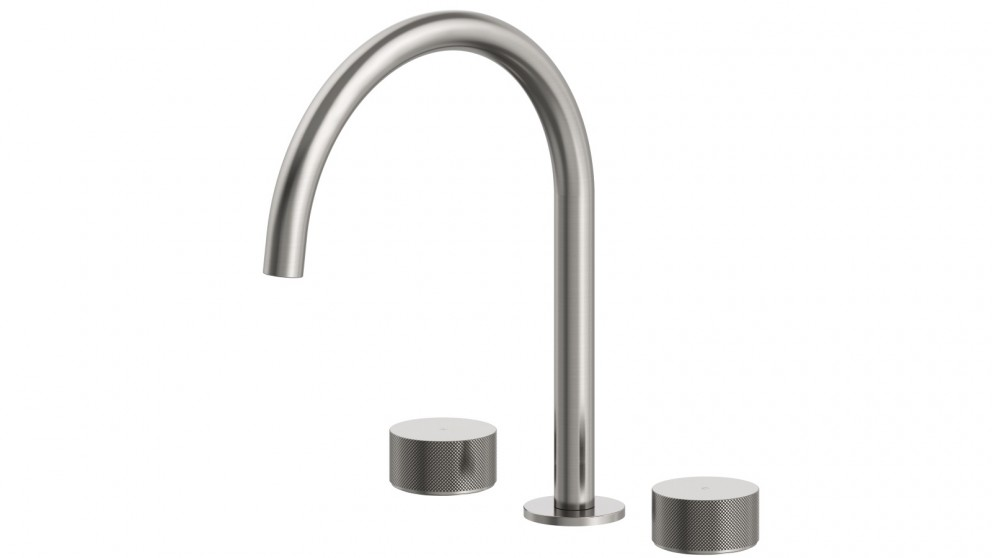 Arcisan Vierra Kitchen Set with Swivel Spout - Brushed Nickel PVD