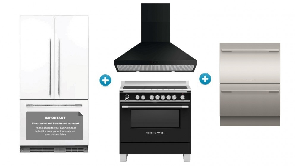 Fisher & Paykel 60cm Induction Classic Kitchen Set