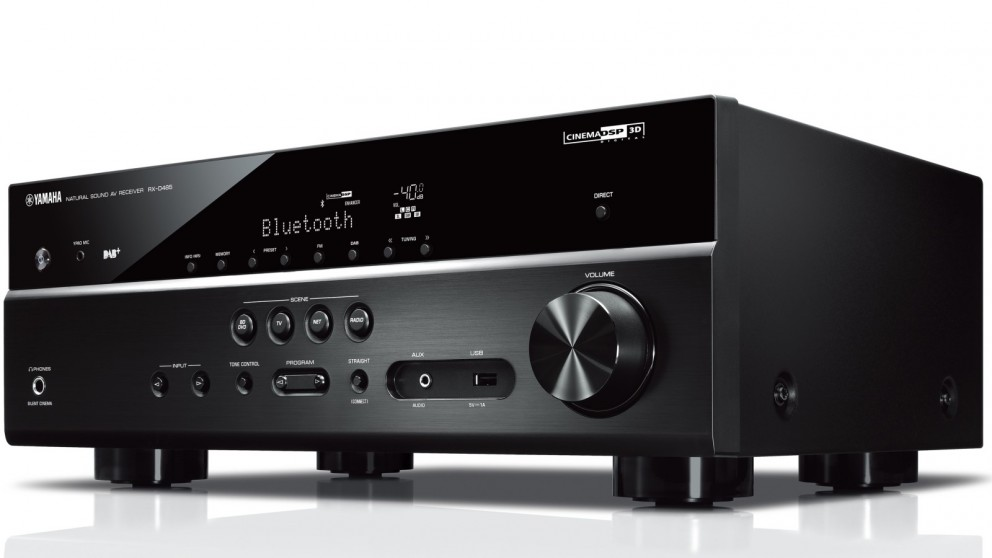 Yamaha RXD485B 5.1 Channel AV Receiver with DAB