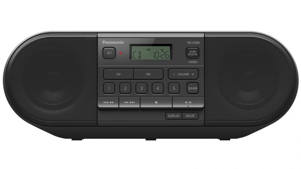 Panasonic Powerful Portable FM Radio & CD Player