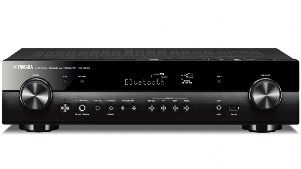 Yamaha RXS602B  5.1 Channel Slimline AV Receiver with DAB