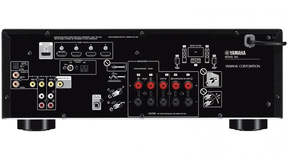 Buy yamaha 5 1 channel rx v385 av receiver harvey norman au for Yamaha rx v450 av receiver price