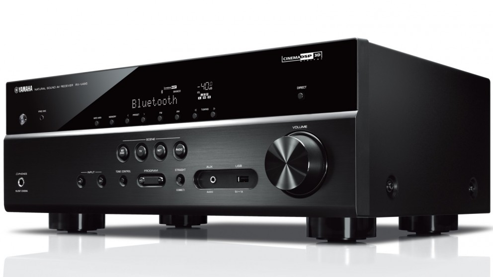 Yamaha RXV485B  5.1 Channel AV Receiver with MusicCast Surround