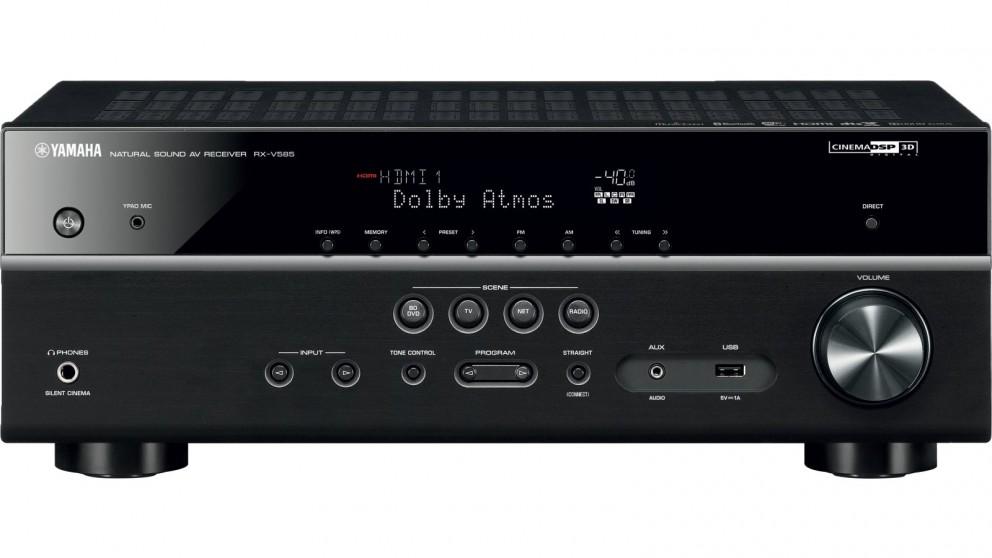 Yamaha RX-V585 7.2 Channel Natural Sound AV Receiver
