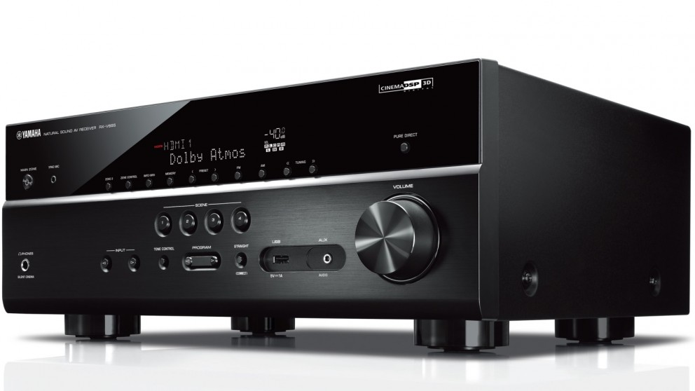 Buy yamaha 7 2 channel av receiver with musiccast surround for Yamaha tv receiver