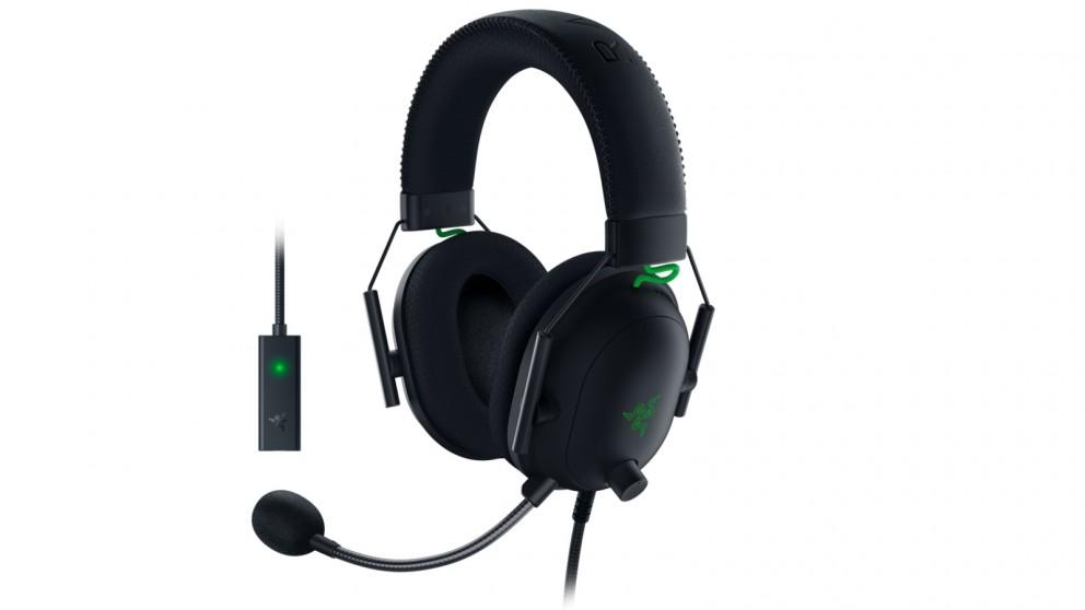 Razer BlackShark V2 Gaming Headset with USB Sound Card