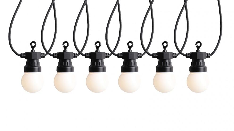 Lexi Lighting 20 LED Opal Globes Festoon Light