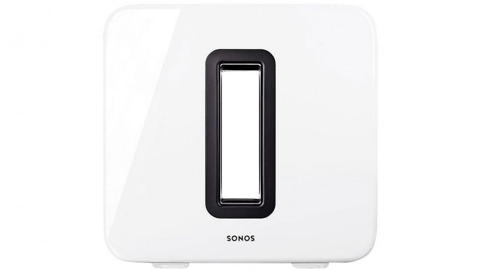 Sonos SUB Wireless Subwoofer - Gloss White