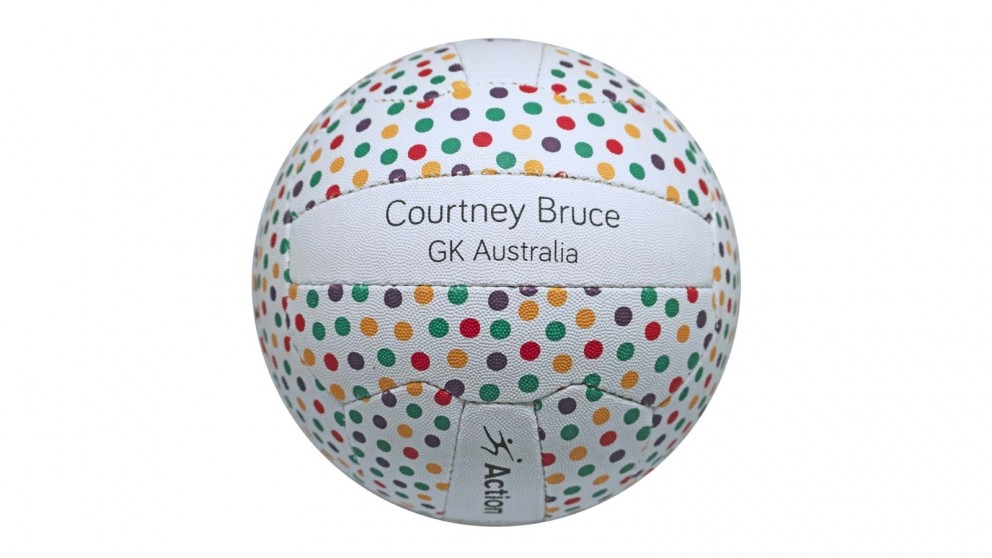 Action Courtney Bruce Training Netball