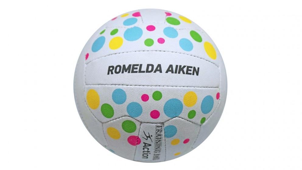 Action Romelda Aiken Training Netball