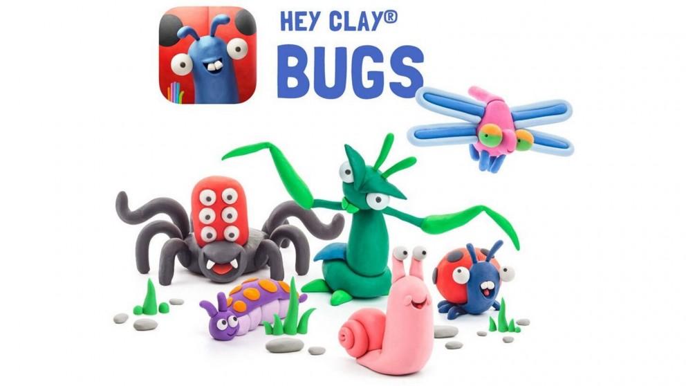 Hey Clay Bugs DIY Modelling Kids Clay Art