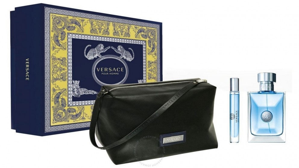 Versace Homme by VERSACE for Men (100ml) EDT - 3 Piece Set