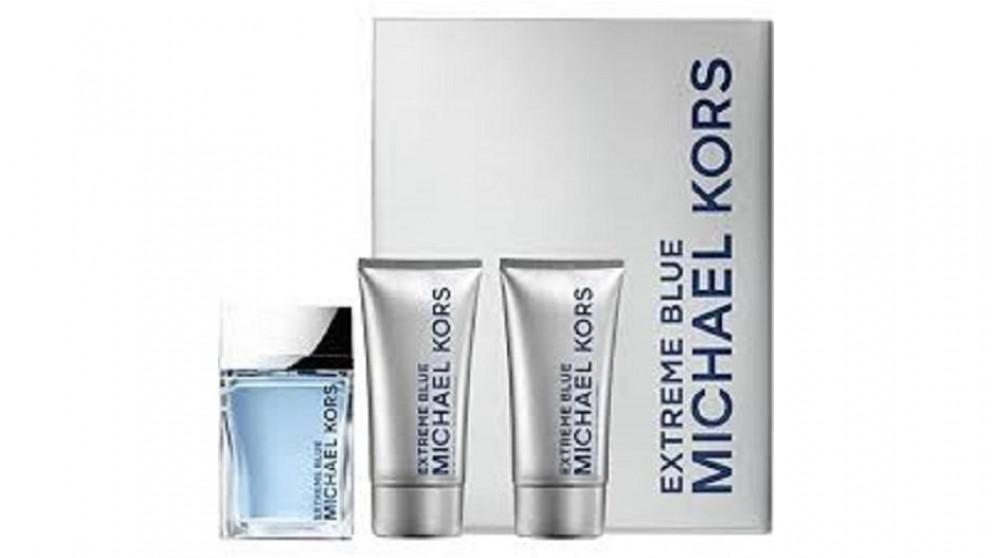 Extreme Blue by Michael Kors for Men (100ml) EDP - 3 Piece Set