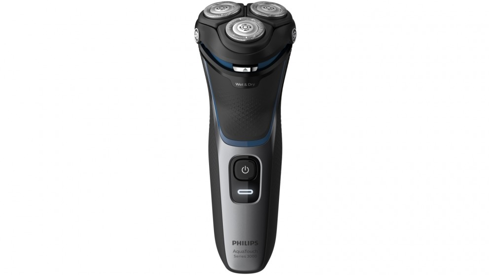 Philips AquaTouch Series 3000 Wet and Dry Electric Shaver - Black